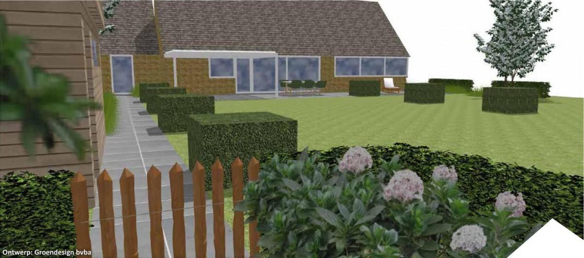 Tuinontwerp uniek ontwerp verschillende soorten tuinen for Tuinarchitect gent