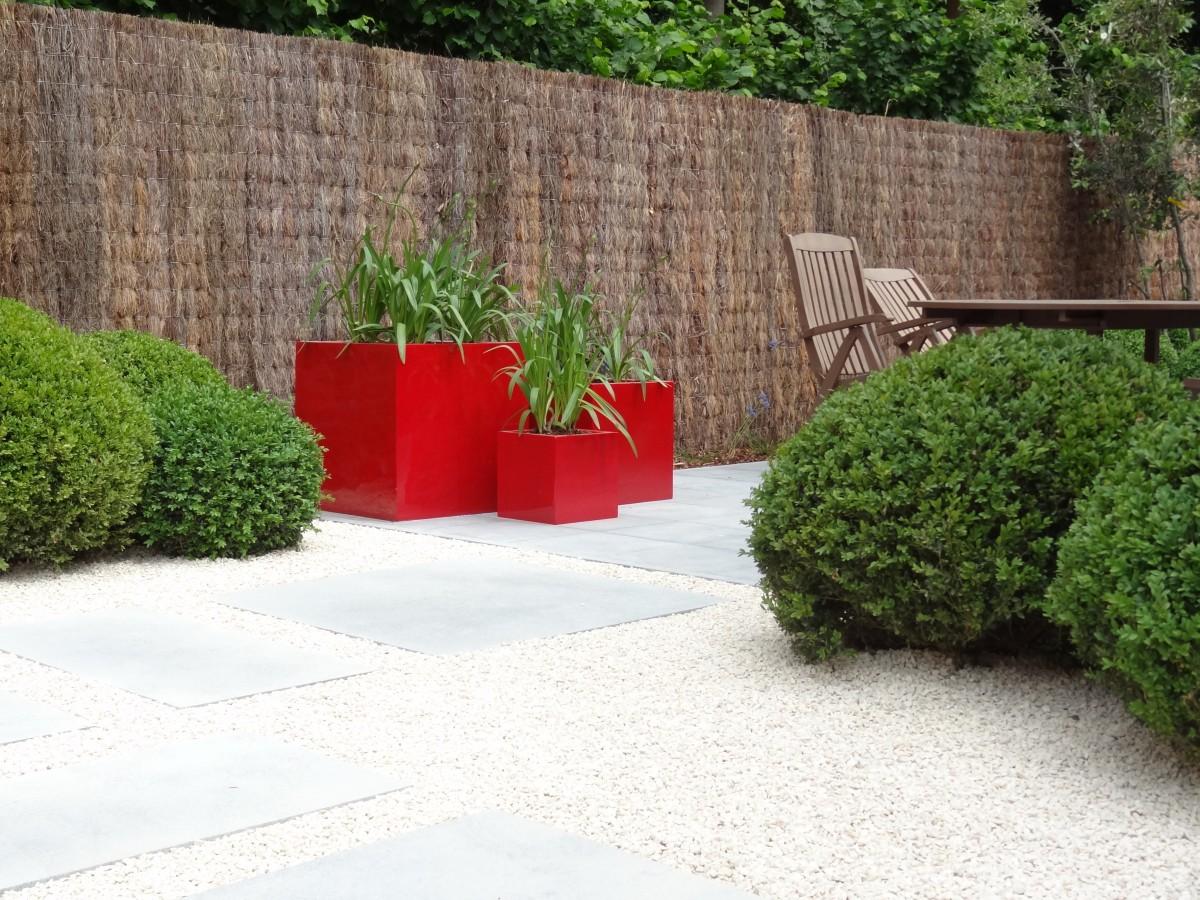 Aanleg kleine lounge tuin in oost vlaanderen groendesign for Aanleg kleine tuin